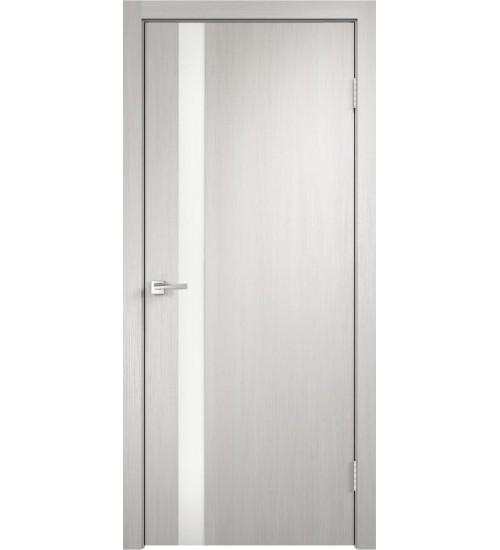Дверь Velldoris Smart Z-1 лакобель белое белый дуб