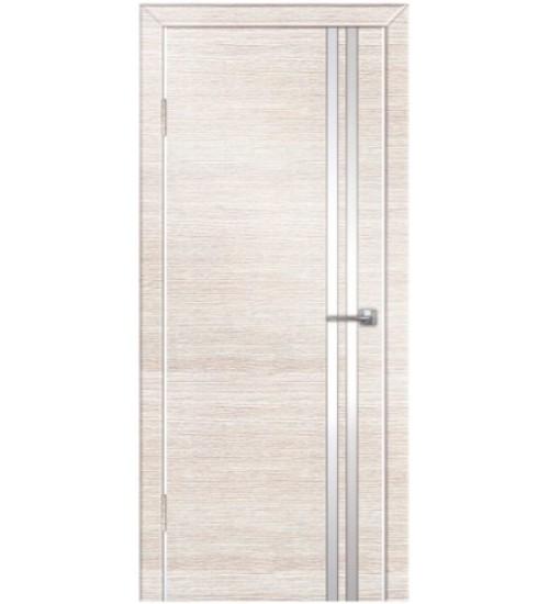 Дверь Техно-7 молдинг венге/беленый дуб